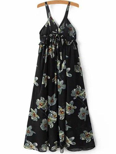 Cami Floral Print A-Line Dress