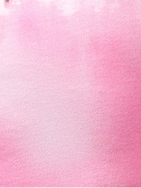 online Ombre Color Tank Top - PINK M Mobile