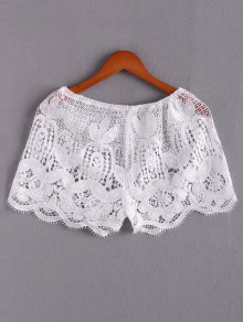 Lace Beach Mini Shorts