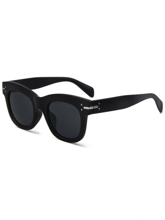 online Matte Black Sunglasses - BLACK