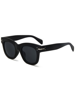 Matte Black Sunglasses - Black