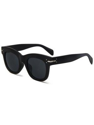 Matte Black Sunglasses - Black