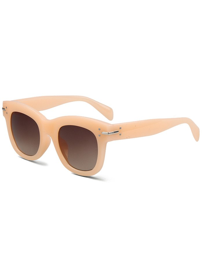 Frosted Orange Sunglasses