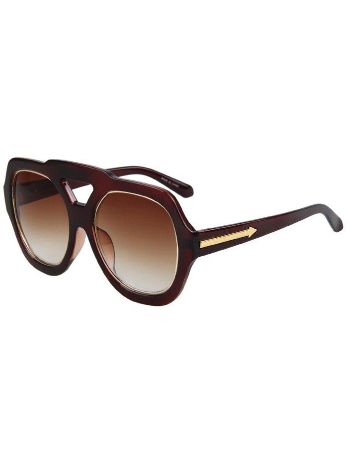 Arrow Double Rim Sunglasses For Women