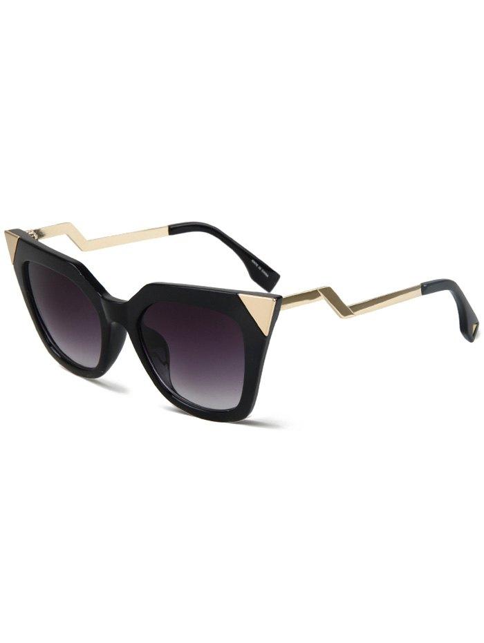 High Pointed Black Cat Eye Sunglasses