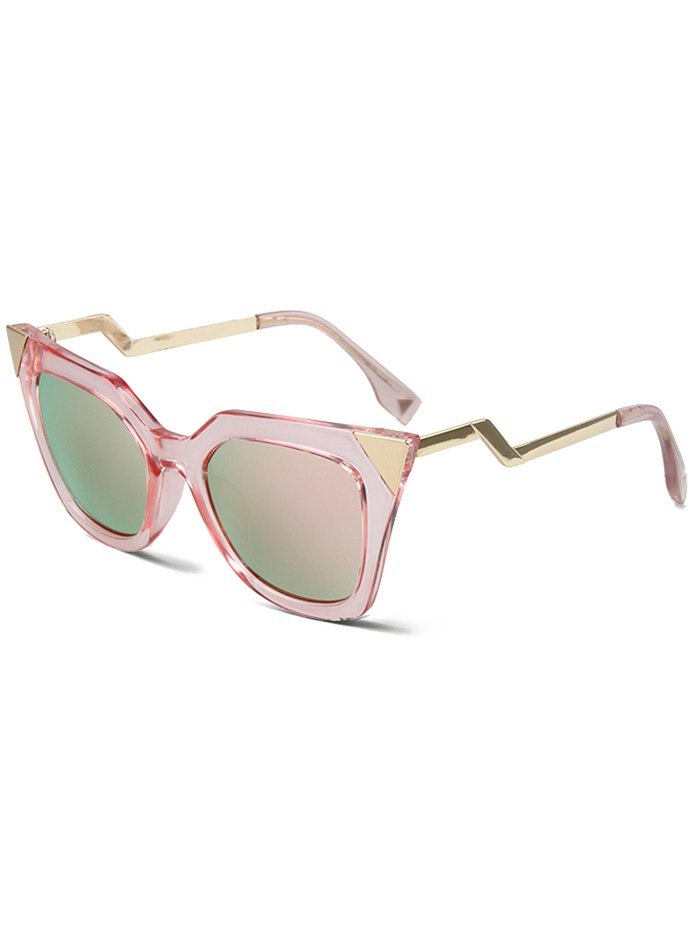High Pointed Pink Cat Eye Sunglasses