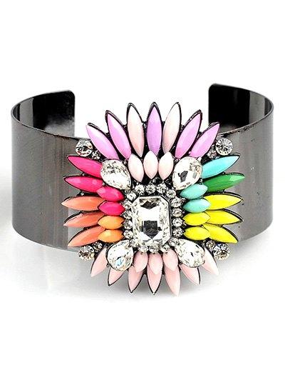 Bohemian Flower Jewelry Cuff Bracelet
