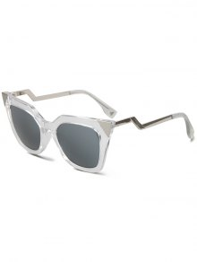 High Pointed Transparent Cat Eye Sunglasses