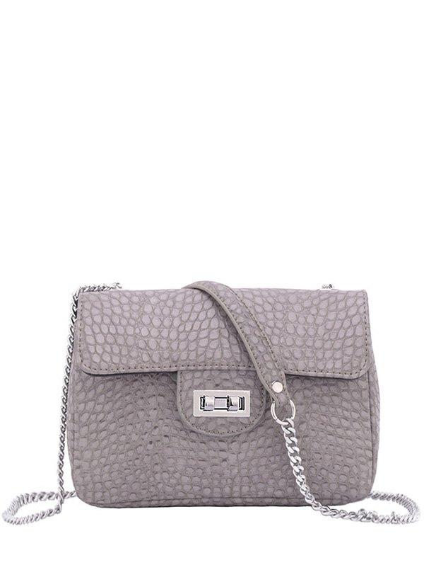 Crocodile Print Design Crossbody Bag For Women