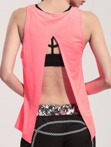 Back Slit Relaxed Tank Top