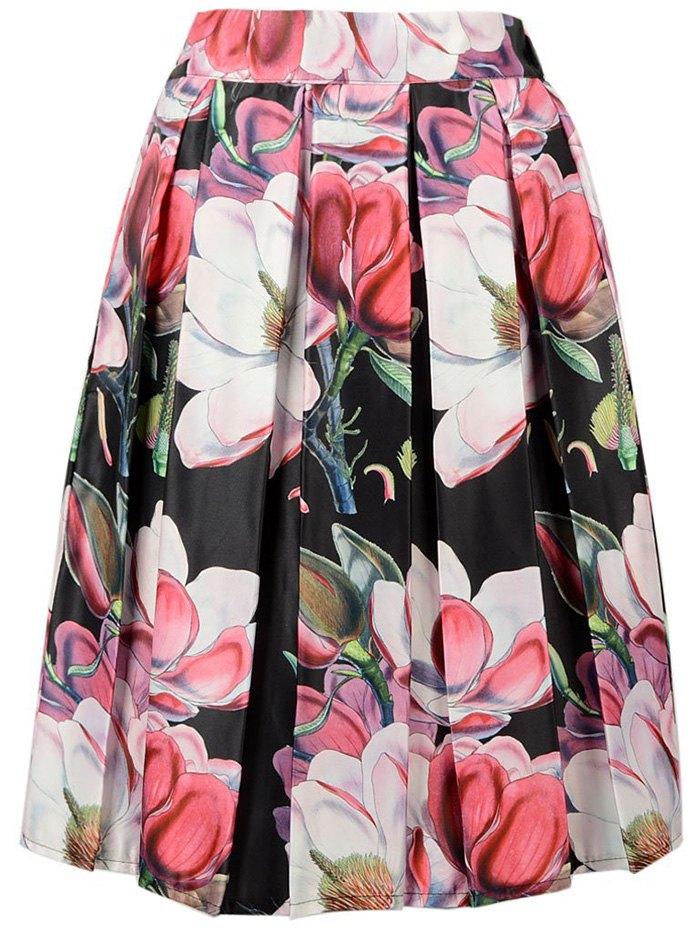 Flower Print Skirt 39