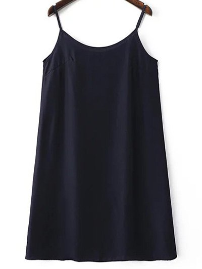 Belted Printed Round Neck Sleeveless Dress and Solid Color Cami Tank Top от Zaful.com INT