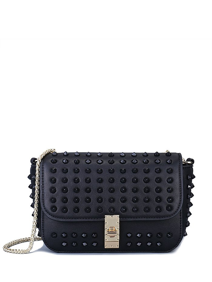 Studded Design Crossbody Bag For Women