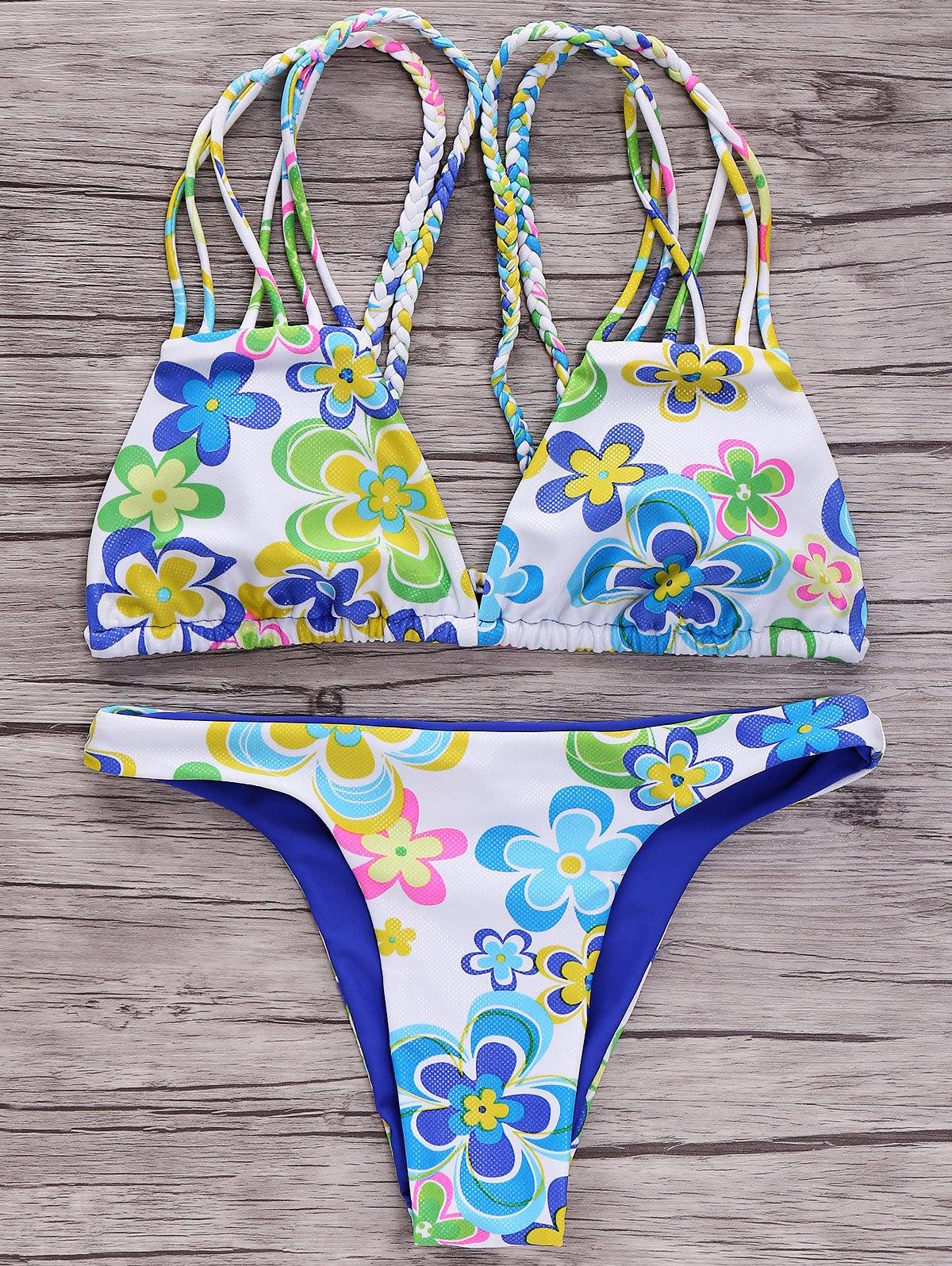 Reversible Strappy Bikini Set