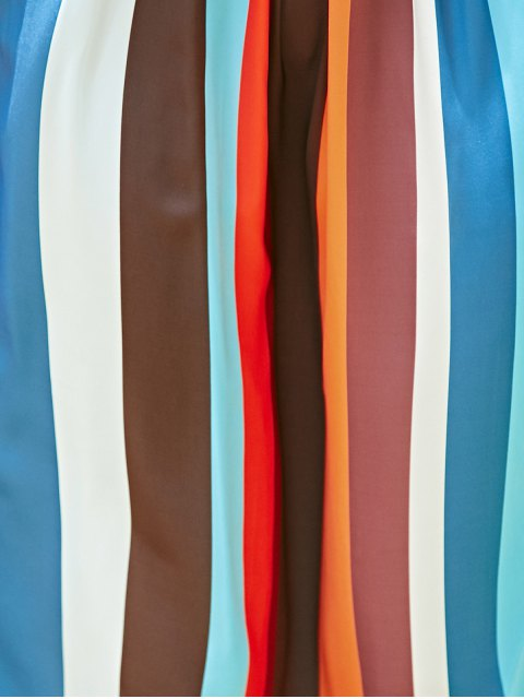 affordable Long Boho Skirt - COLORMIX L Mobile