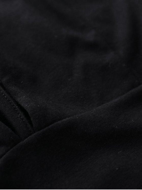Black Cami Backless Bodysuit - BLACK 2XL Mobile