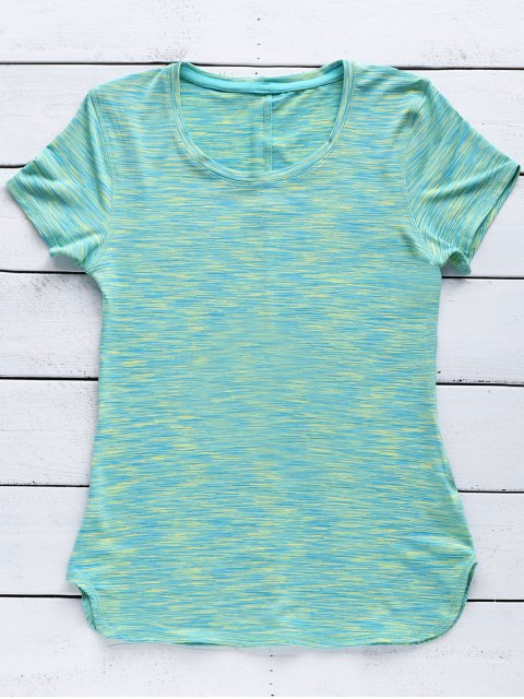 new Exposed Seams Quick Dry Top - GREEN L Mobile