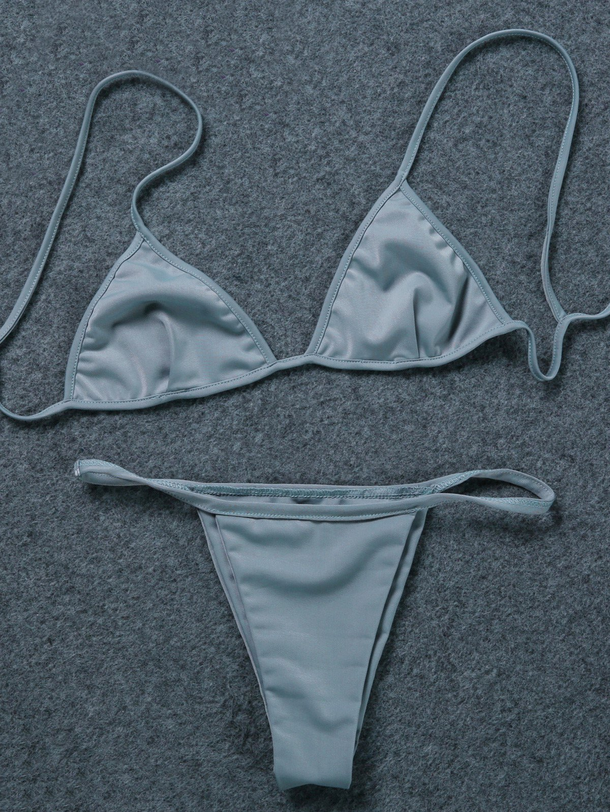 V-String Unlined Bikini Set