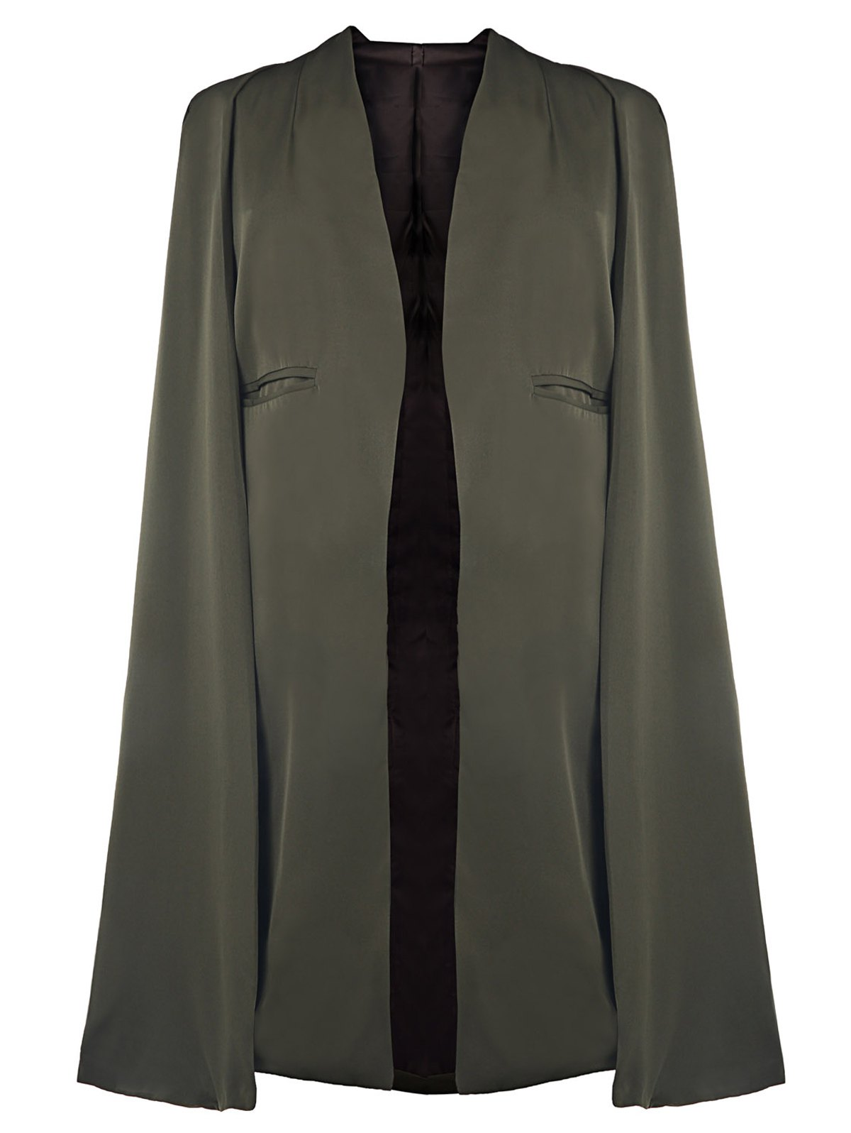 Army Green Cape Coat