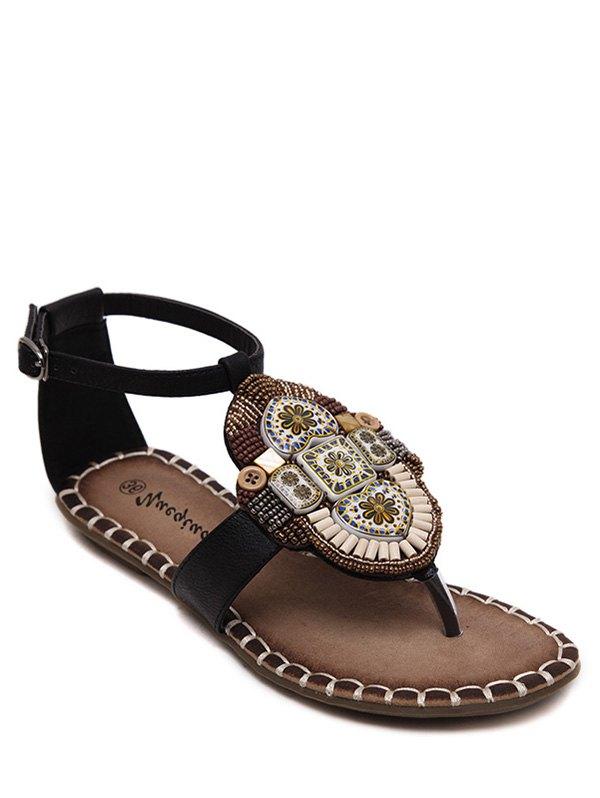 Flat Heel Design Sandals For Women
