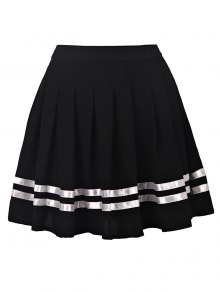 Pleated High Waisted Skirt