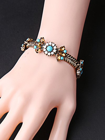 Bohemian Weaving Alloy Bracelet - COPPER COLOR  Mobile