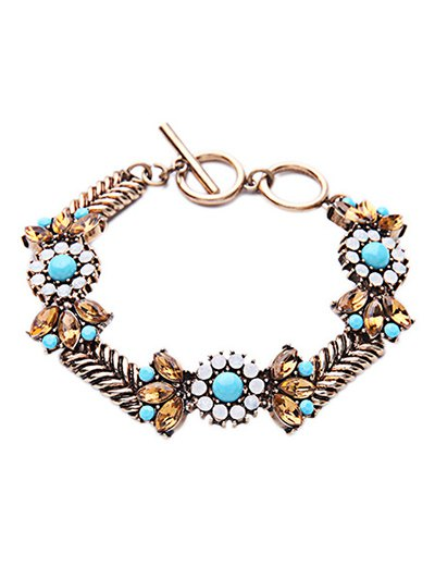 Bohemian Weaving Alloy Bracelet For Women