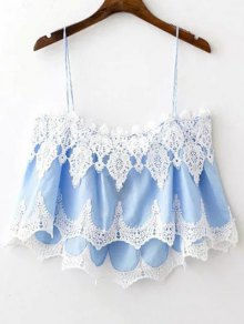 Lace Trim Camisole Top