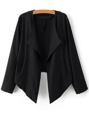 Cropped Back Blazer