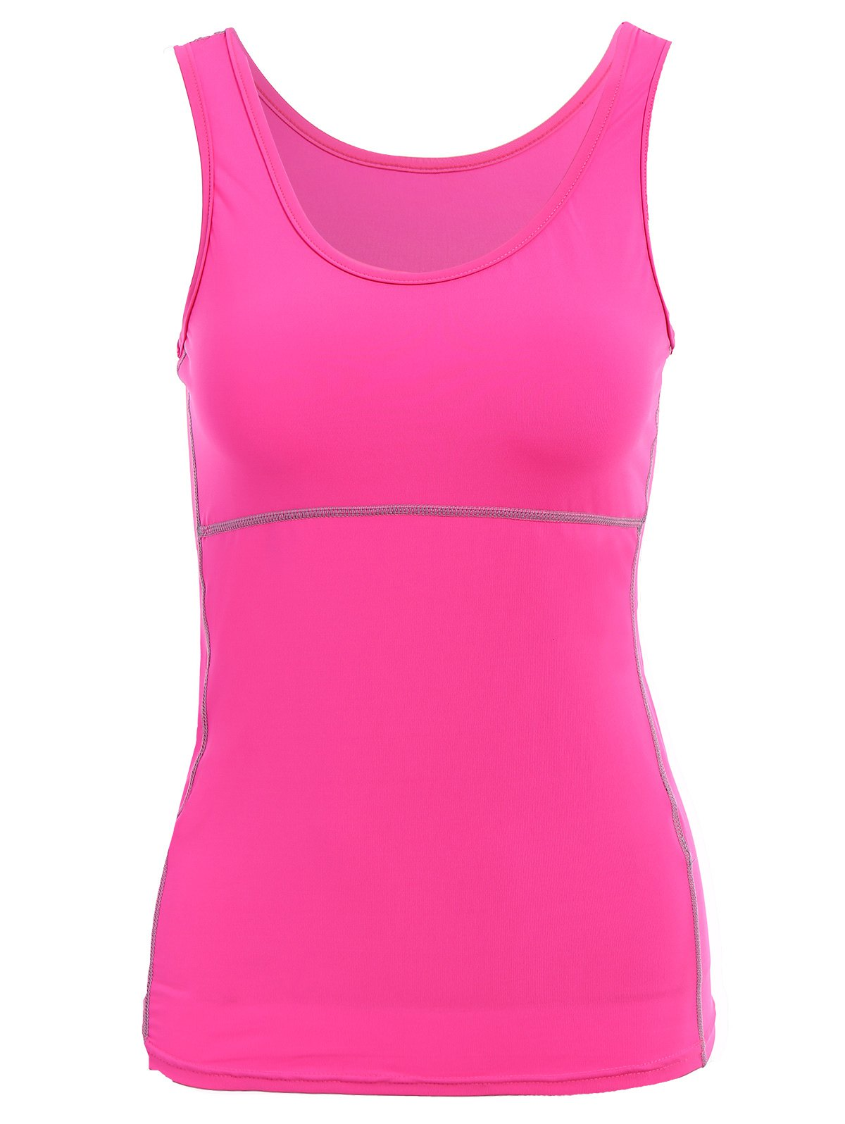 Exposed Seams Sports Tank Top от Zaful.com INT