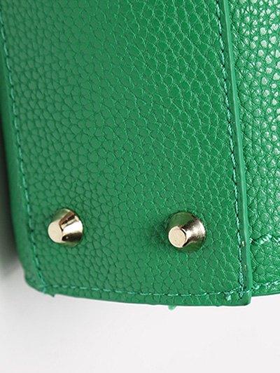 Metal Stitching Solid Color Tote Bag от Zaful.com INT