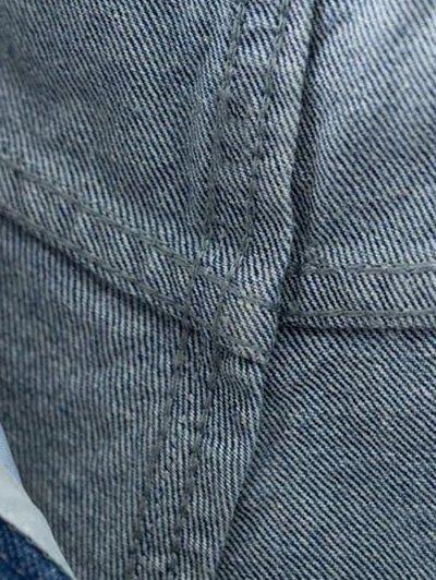Ripped Rough Selvedge Denim Shorts от Zaful.com INT