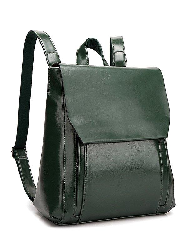 Solid Color Design Backpack For Women