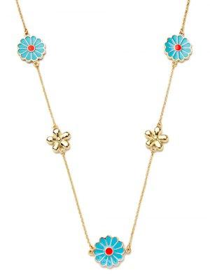 Collar Dulce De Las Flores - Dorado