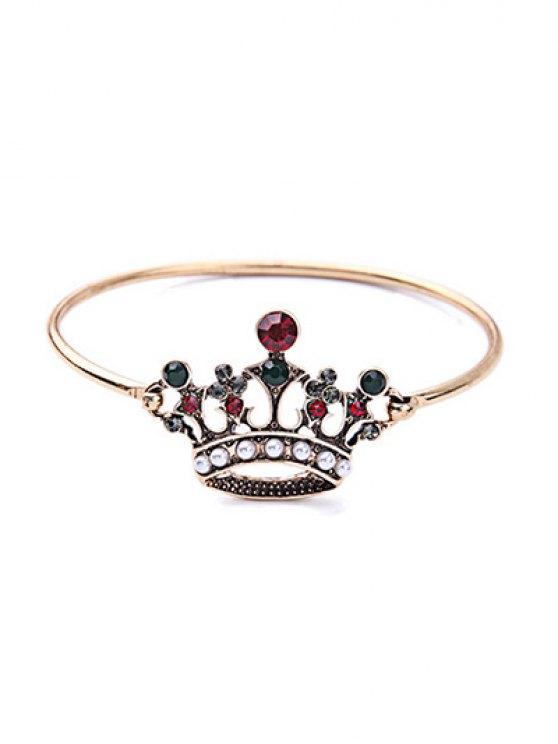 Crown Rhinestone Bracelet - COLORMIX  Mobile