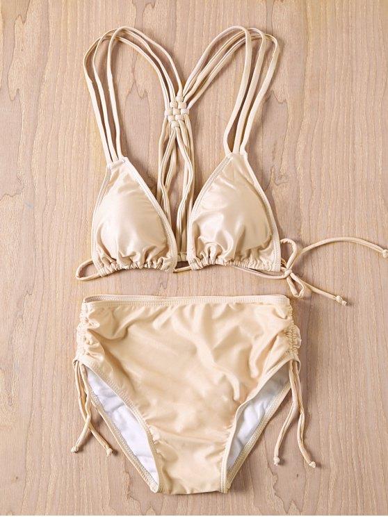 Cami Conjunto Bikini desnuda - Desnudo S