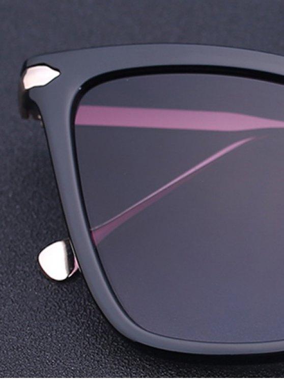Charming Black Butterfly Sunglasses - DEEP PURPLE  Mobile