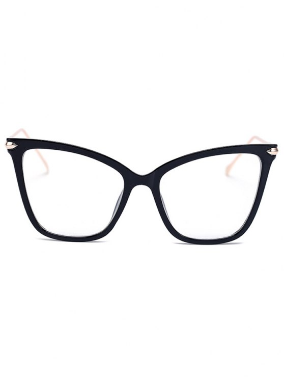 Charming Black Butterfly Sunglasses - TRANSPARENT  Mobile
