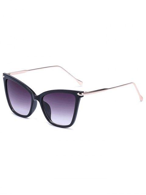 shop Charming Black Butterfly Sunglasses - DEEP PURPLE  Mobile
