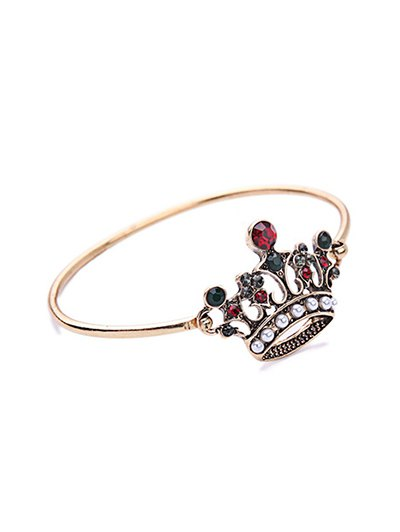 Rhinestone Crown Bracelet от Zaful.com INT