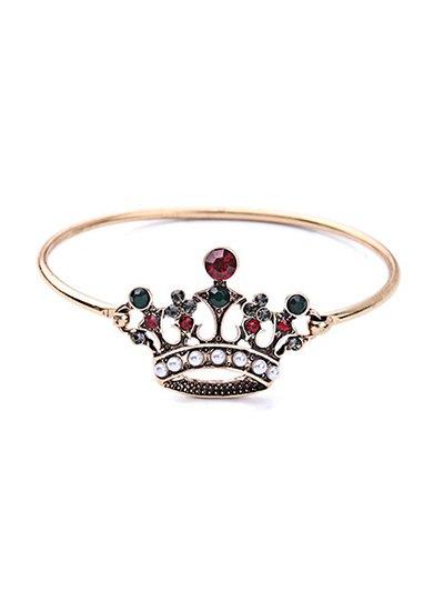 Crown Rhinestone Bracelet