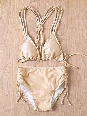 Nude Cami Bikini Set - Nude