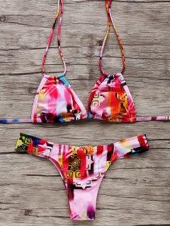 Teeny Colorful Bikini Set - S