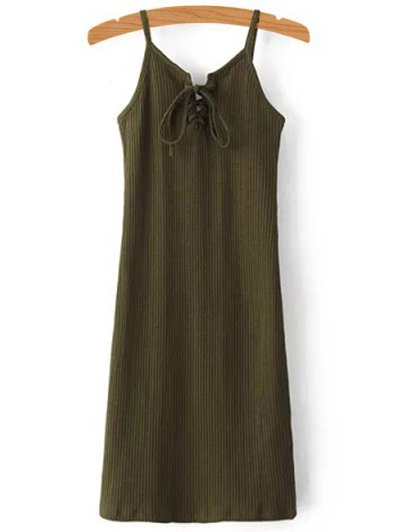 Ribbed Camisole Dress 187368305