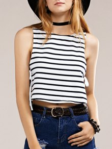 Side Lace-Up Tank Top
