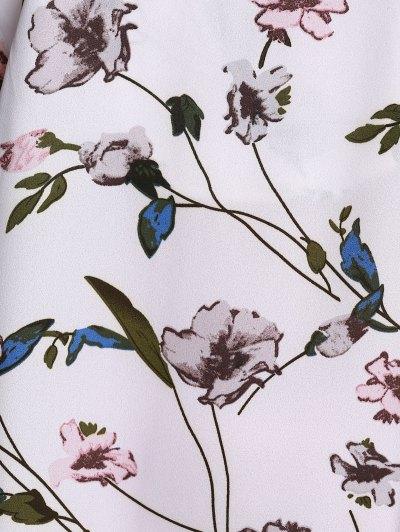 Flounce Ruffles Floral Print Cami Sleeveless Dress от Zaful.com INT