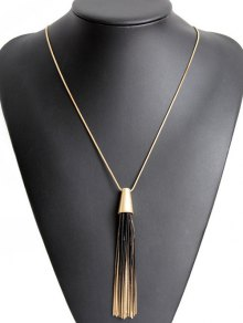 Gradient Tassel Necklace