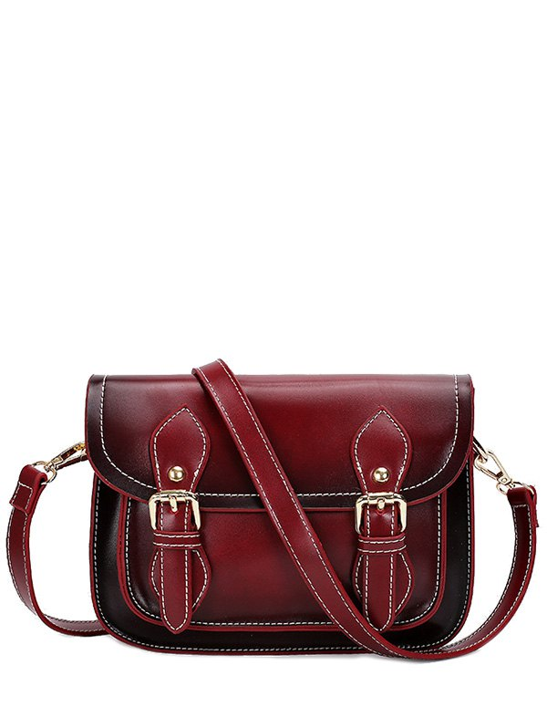 Stitching Design Crossbody Bag For Women