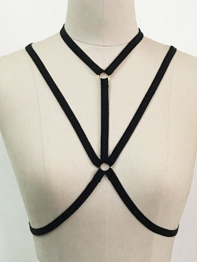 Cupless Harness Bra