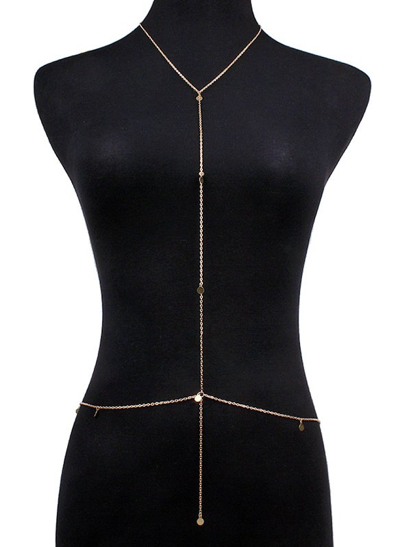 Alloy Sequins Bikini Body Chain